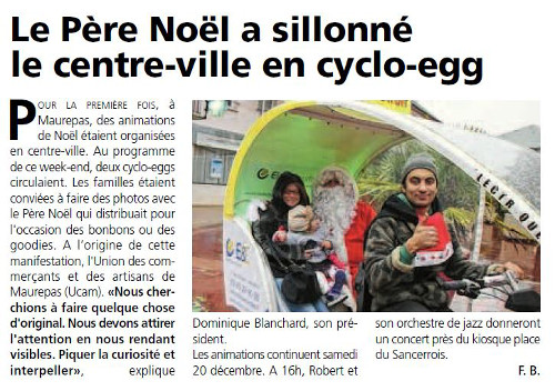 presse cyclo-egg 2014